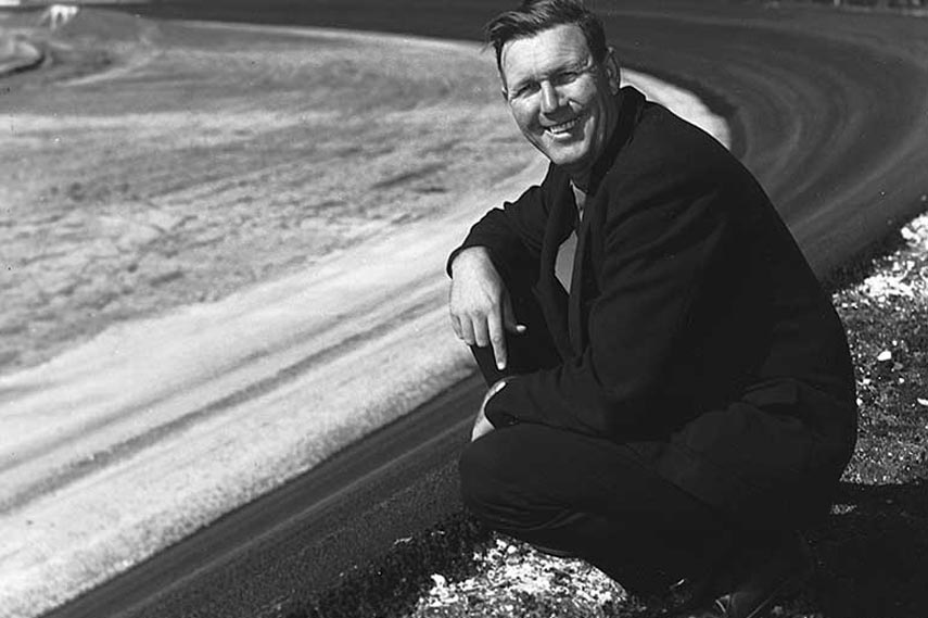 Bill France, the father of NASCAR