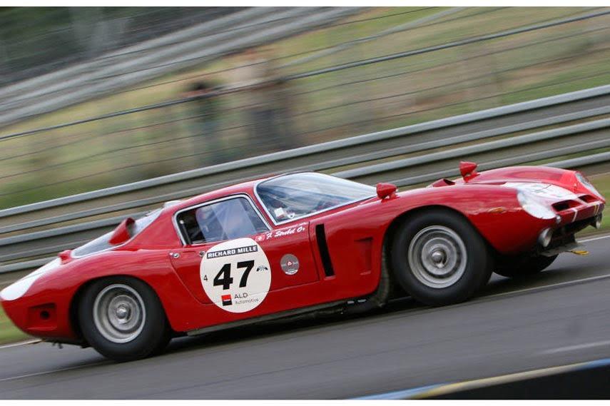 Bizzarrini 5300 GT Corsa in action at Le Mans