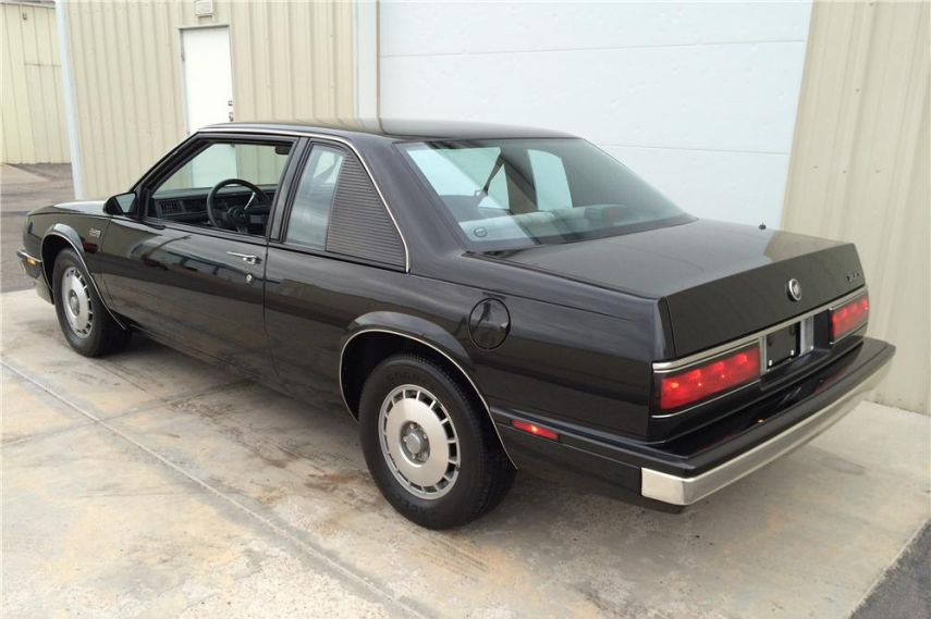 1986 Buick LeSabre Grand National with a modified rear quarter window