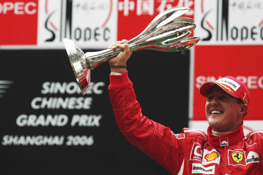2006 Chinese Grand Prix, Michael Schumacher, Ferrari, winner, record holder fastest lap