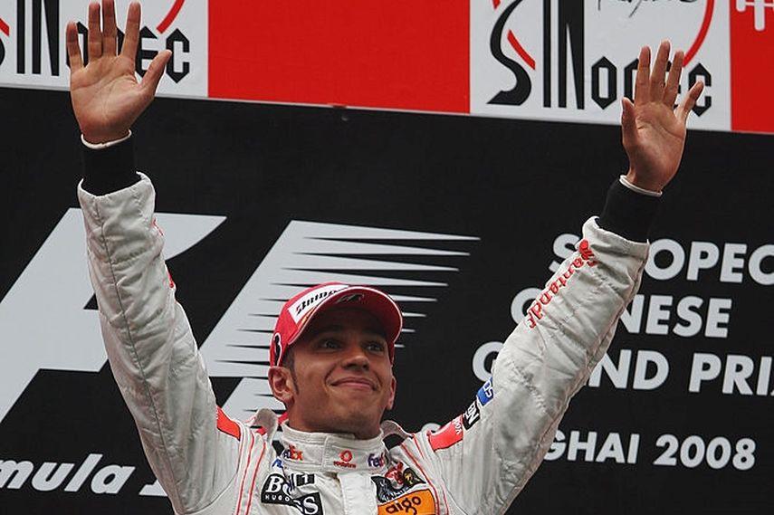 2008 Chinese Grand Prix, Lewis Hamilton, Mercedes, 2008