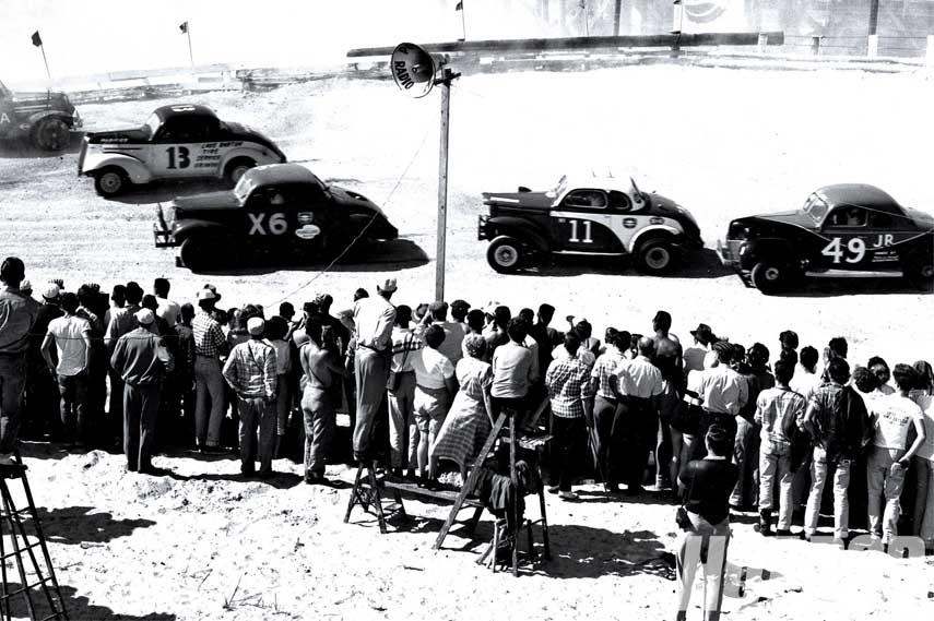 Early NASCAR race