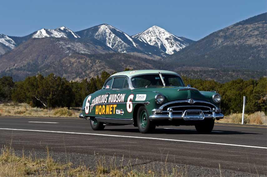 The Fabulous Hudson Hornet NASCAR legend car
