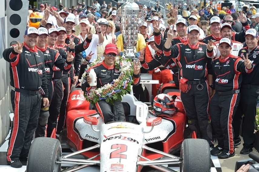 2015 Indianapolis winner Juan Pablo Montoya