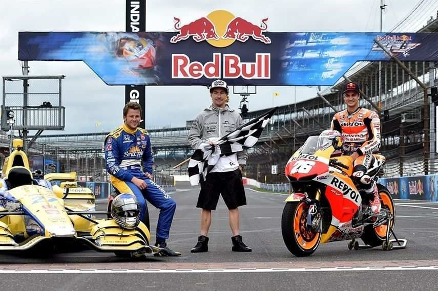 Indianapolis Motor Speedway, Red Bull Moto GP 2015, crown day