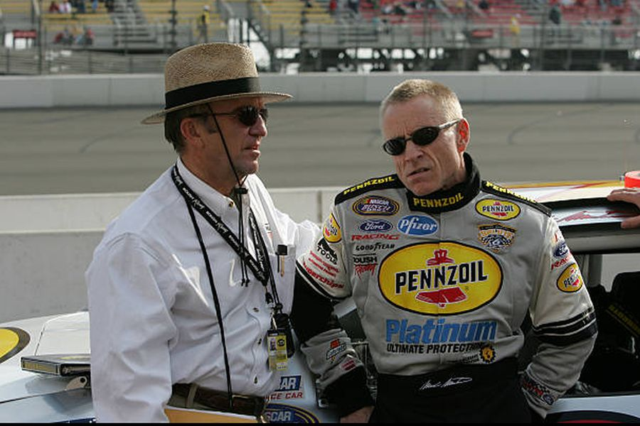 Jack Roush and Mark Martin in 2005