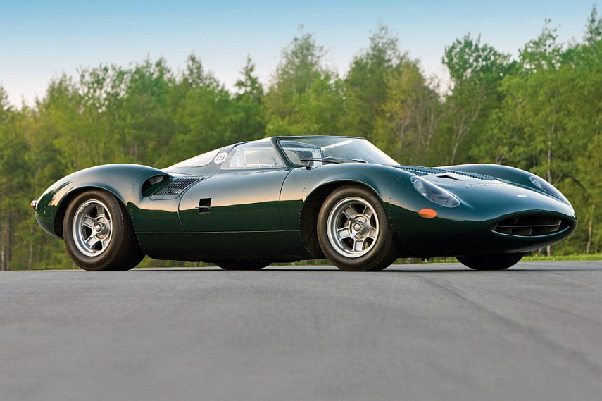 Great proportions and low profile of XJ13