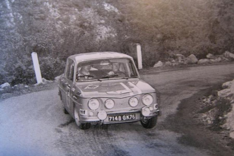 Jean-Luc Therier, 1969 Renault 8 Gordini