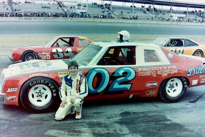 Mark Martin made his NASCAR Cup Series debut in the #02 Pontiac in 1981