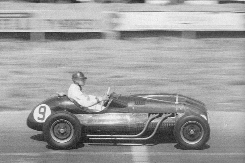 Mike Hawthorn, Cooper T20 (Bristol), 1952 British Grand Prix