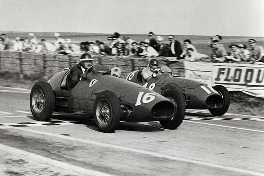 Mike Hawthorn, Juan Manual Fangio, 1953 French Grand Prix