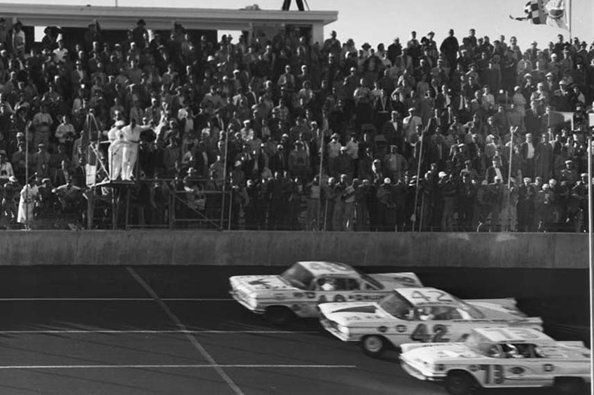 The first Daytona 500, 1959