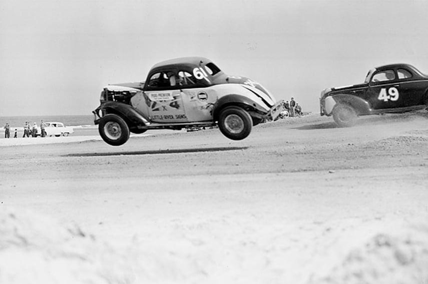 Daytona Beach NASCAR race, early days