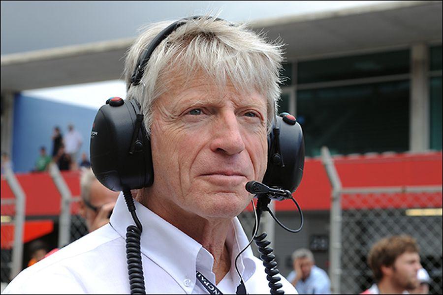 Belgian racing legend Pierre Dieudonne