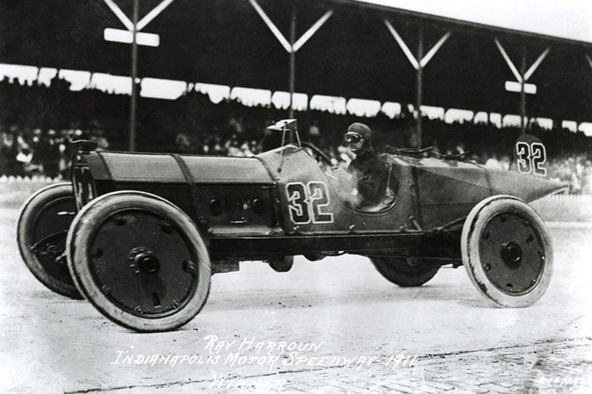Indianapolis Motor Speedway, 1911 Indianapolis 500, Ray Harroun