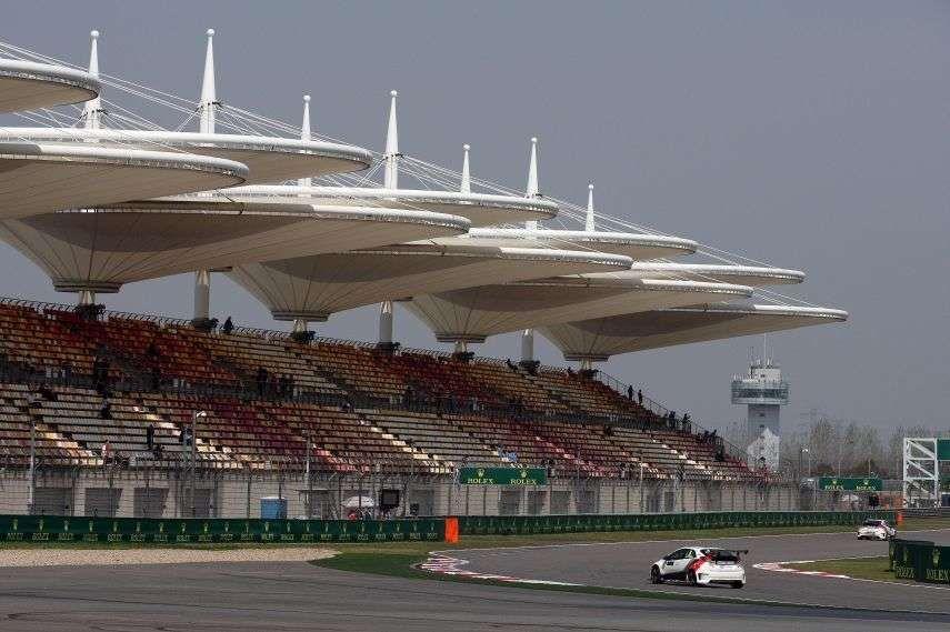 Shanghai International Circuit grandstands
