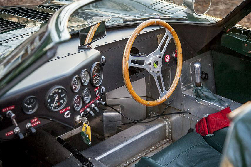 original Jaguar XJ13 interior