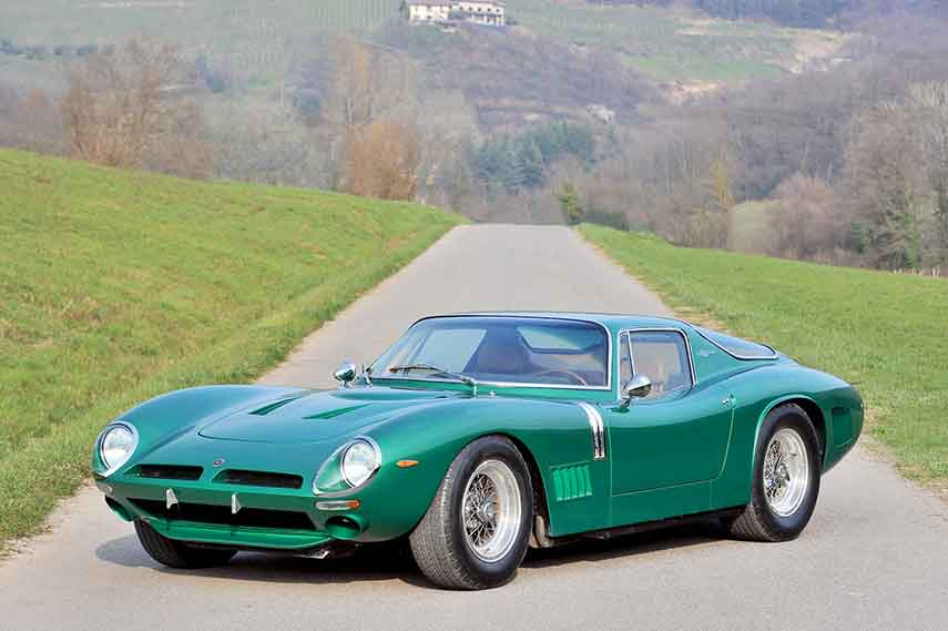 Green Bizzarrini 5300 GT Strada