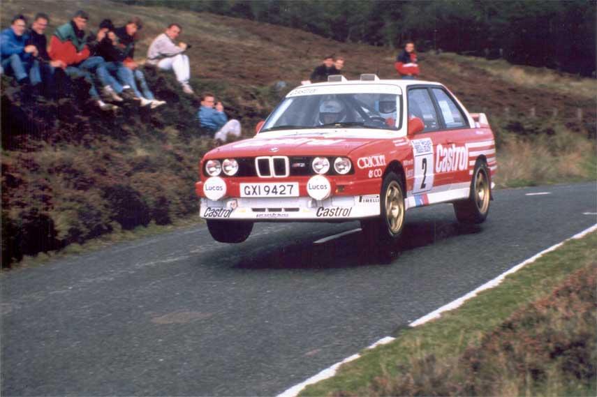 BMW M3 E30, rally