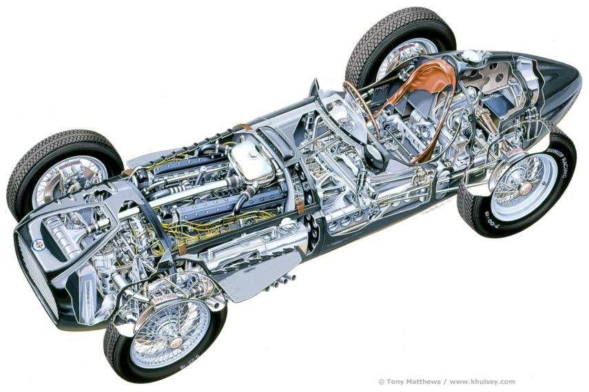 BRM V16, 16 cylinder engine