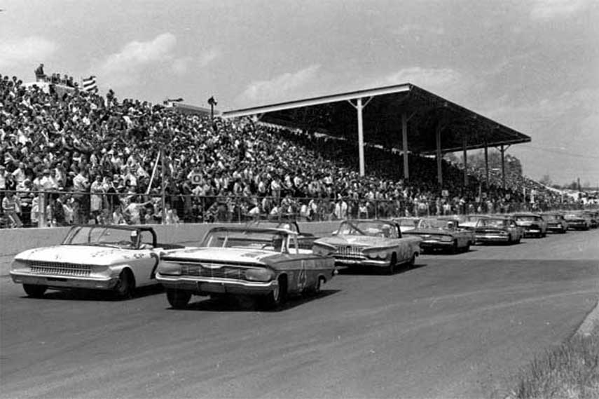 Old race at Marinsville Speedway