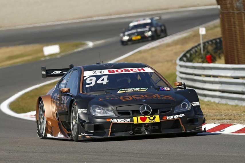 Pascal Wehrlein Mercedes DTM