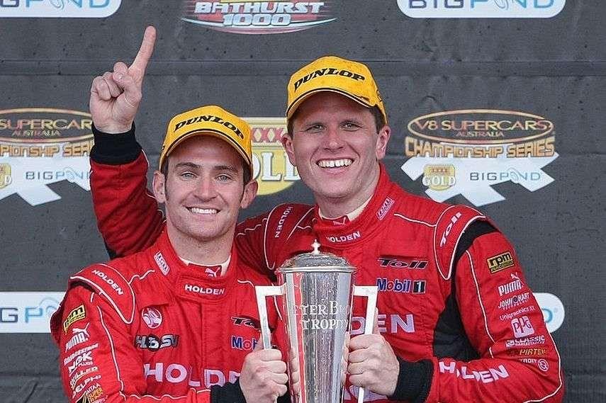 2009 Bathurst, Will Davison, Garth Tander