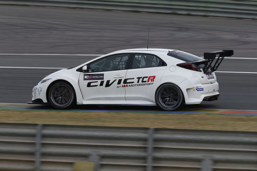 2016 TCR International Series, West Coast Racing, Honda Civic