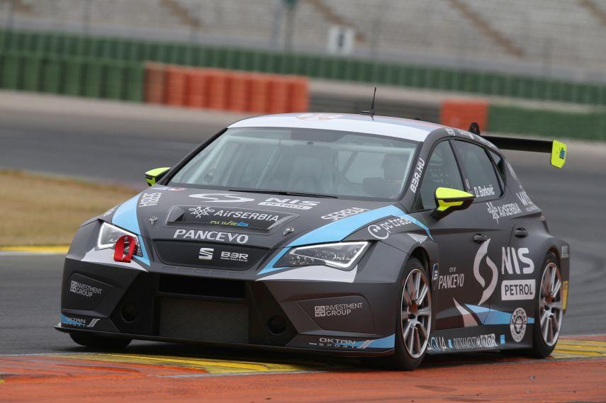 2016 TCR International Series, B3 Racing, Seat Leon, Dusan Borkovic