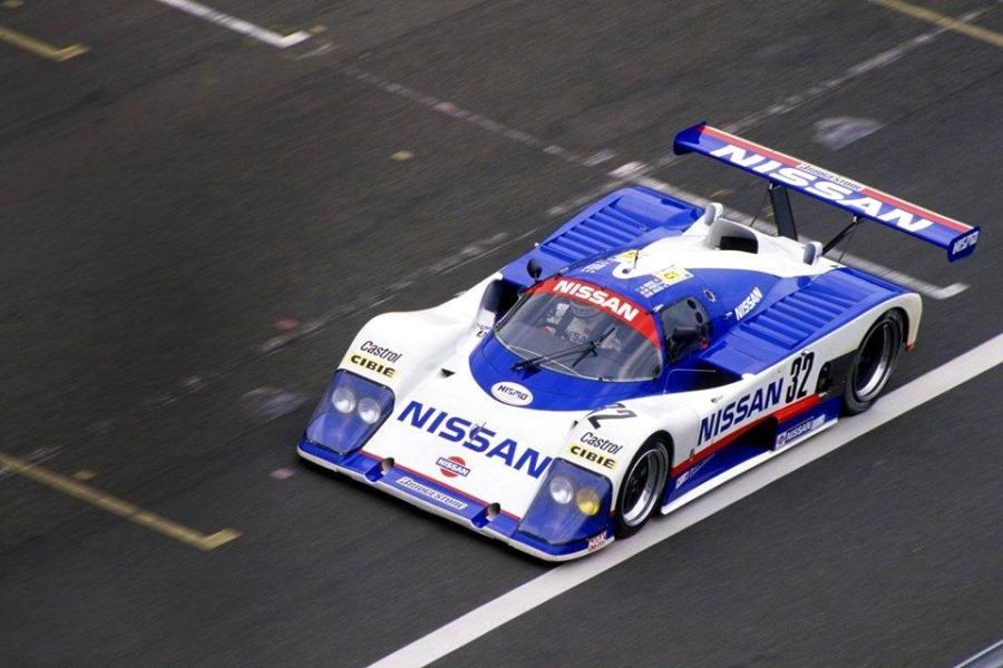 Grice participated at 1988 Le Mans race with Nissan