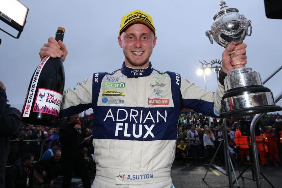 Ashley Sutton - 2017 BTCC champion