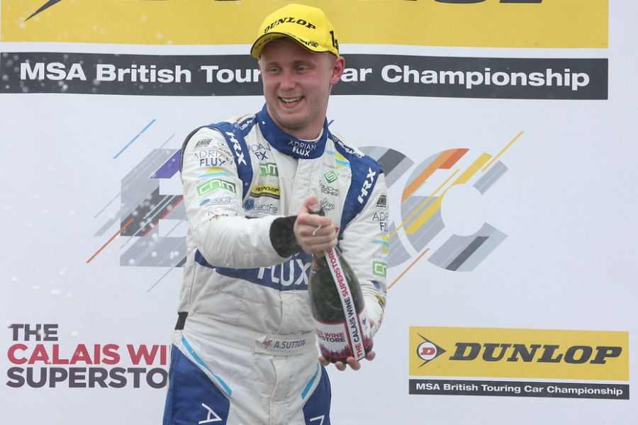 Ashley Sutton, 2017 BTCC champion