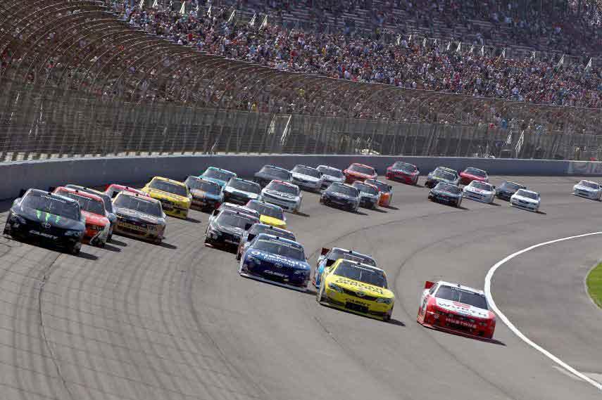 NASCAR, Auto Club Speedway, 2004 - 2009