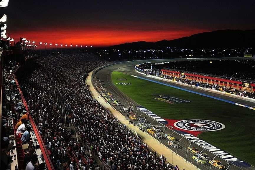 Auto Club Speedway in Fontana, California