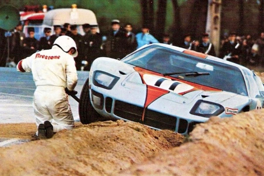Brian Muir at 1968 Le Mans 24 Hours