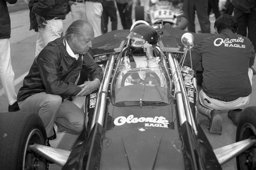 Dan Gurney, 1970, USAC, Sears Points Raceway, Sonoma