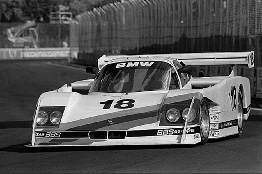 In 1986, Davy Jones was sharing the #18 BMW GTP with John Andretti