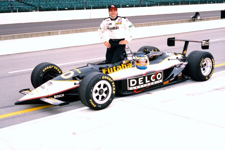 Davy Jones finished second at 1996 Indianapolis 500 in the #70 Lola-Mercedes