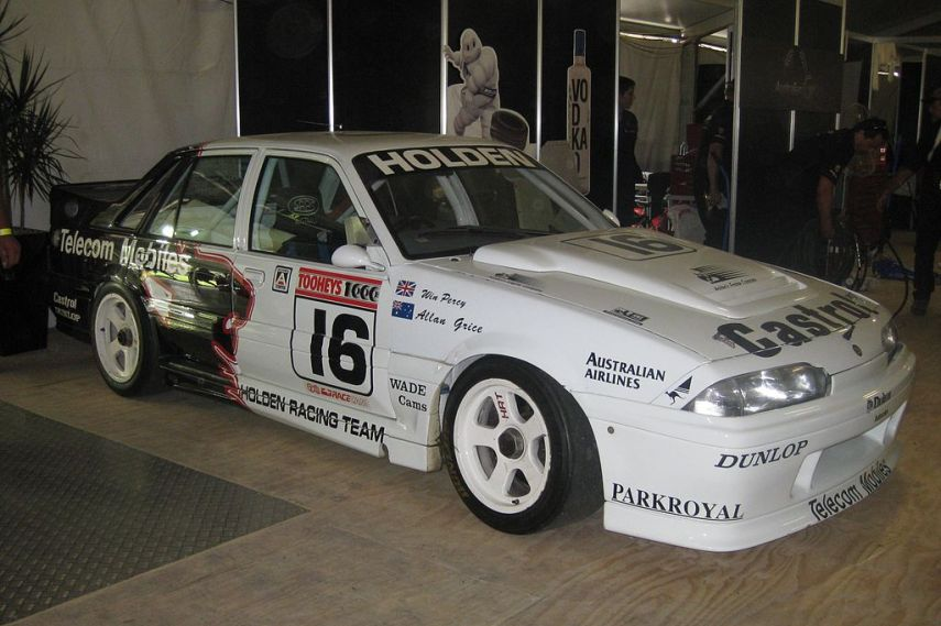 Win Percy, Allan Grice, Holden Racing Team, 1990 Bathurst1000, Australia, motorsport