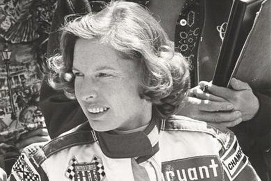 Janet Guthrie in 1976
