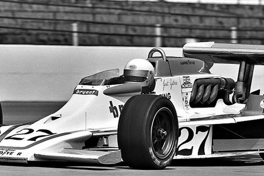 Janet Guthrie at 1977 Indianapolis 500