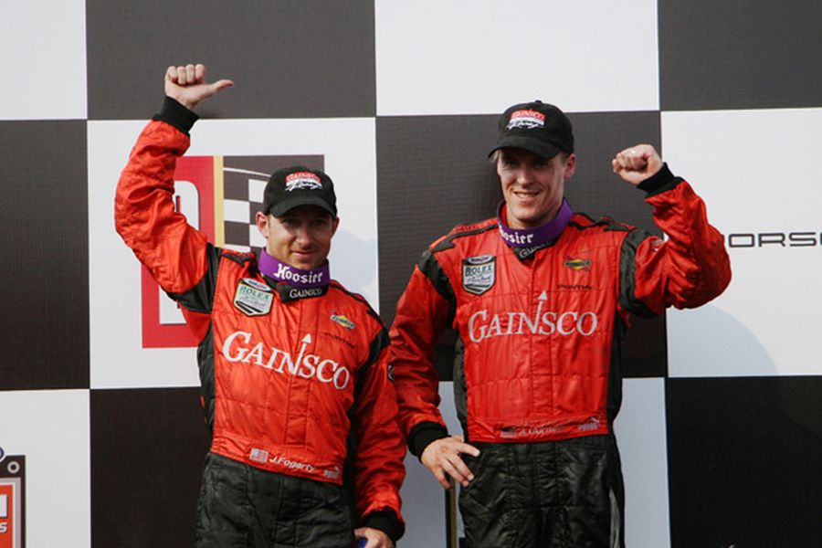 Jon Fogarty and Alex Gurney spent many years together and clinched two championship titles
