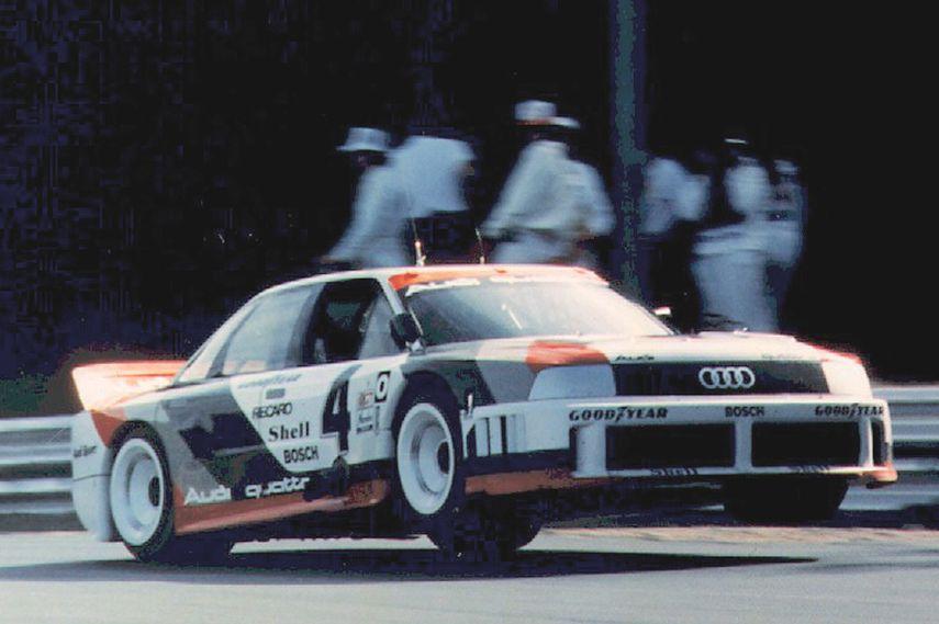 Hans-Joachim Stuck, 1989, Audi 90 quattro