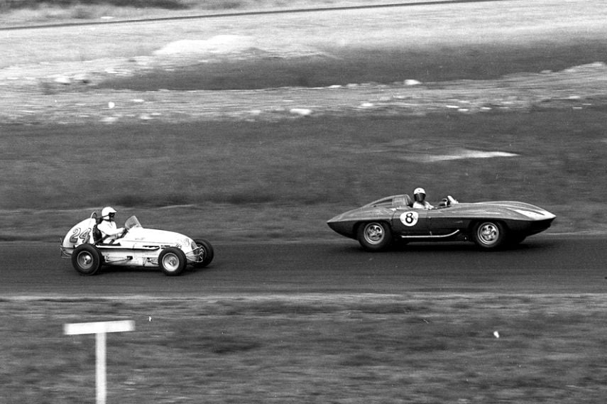 World famous Formula Libre race, 1959, Rodger Ward