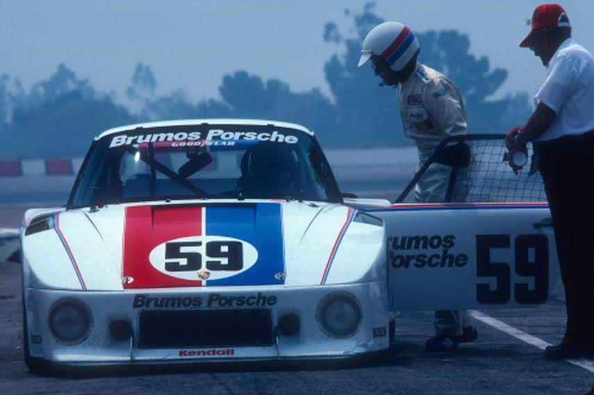 Peter Gregg and his Porsche 935