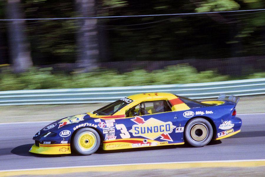 Ron Fellows in a 1996 Chevrolet Camaro