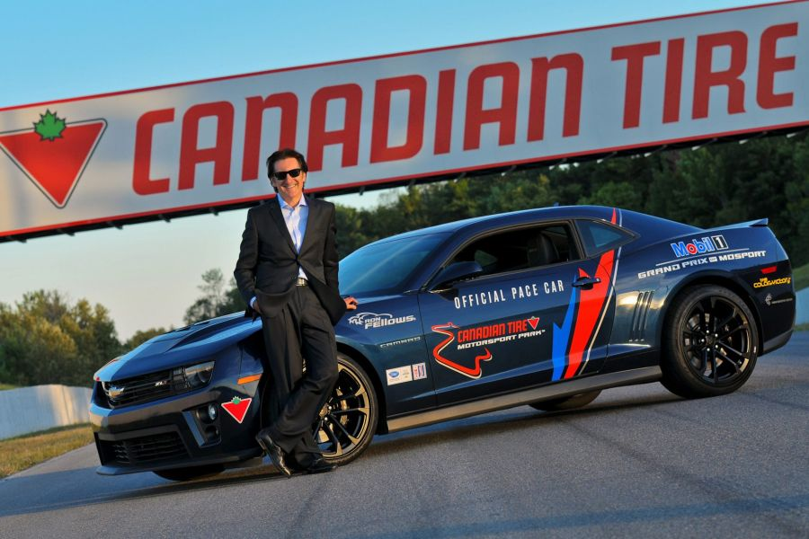 Ron Fellows is an owner of the Canadian Tire Motorsport Park