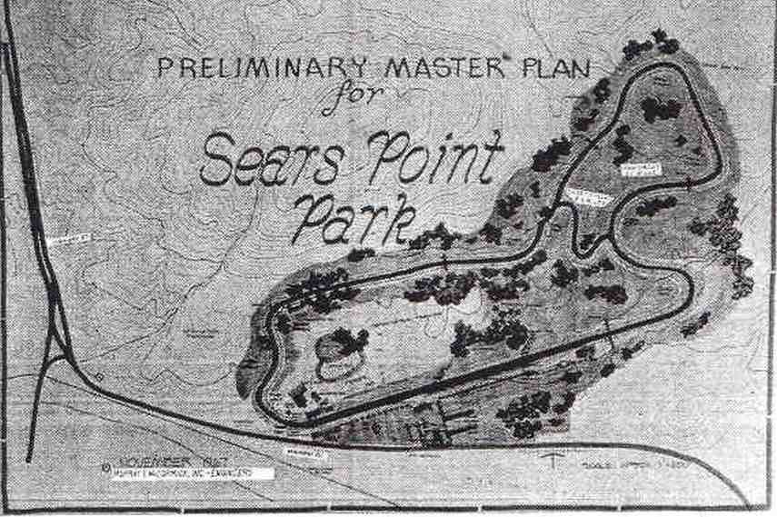 Sears Point Raceway, Sears Point Park, original racing circuit