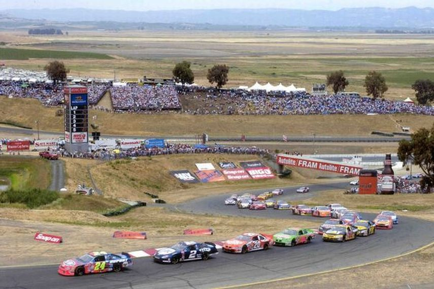 2005 NASCAR Nextel Cup, Sonoma Raceway