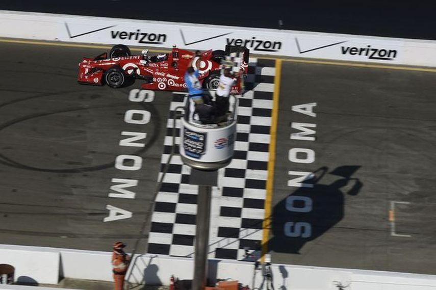 Scott Dixon, Grand Prix of Sonoma, 2015, IndyCar Series